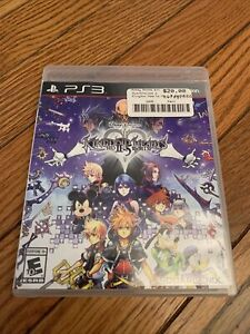 Kingdom Hearts HD 2.5 ReMIX (Sony PlayStation 3, 2014) PS3 Complete - Tested