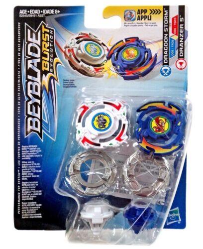 Hasbro Beyblade Burst Evolution SwitchStrike Dragoon Storm /& Dranzer S US Seller