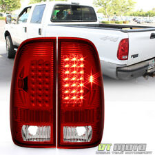 1999 2007 Ford F250 F350 F45 Sd 1997 2003 F150 Red Led Tail Lights Signal Lamps Fits 1997 Ford F 150
