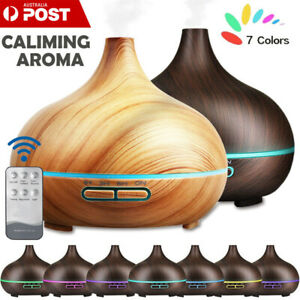 Aroma-Diffuser-LED-Essential-Oil-Ultrasonic-Air-Humidifier-400ML-Remote-Control