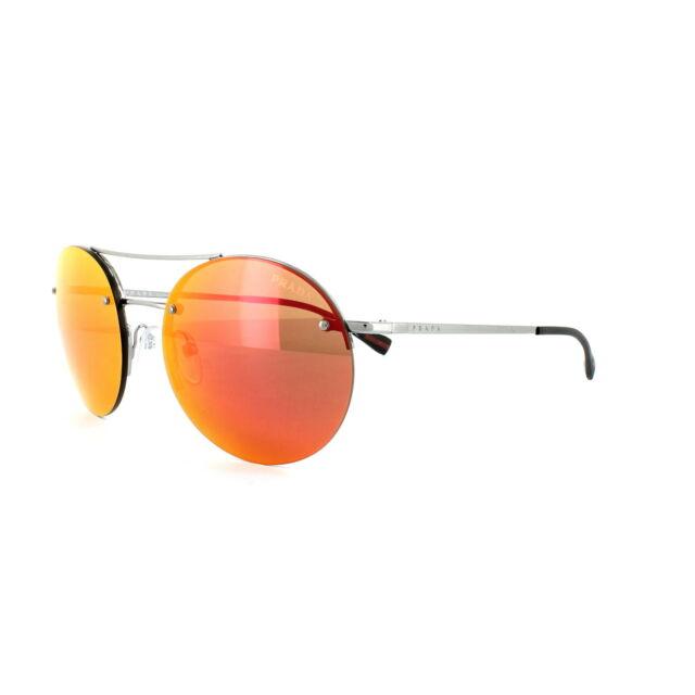 8a26a656be8e PRADA Linea ROSSA 54rs Sunglasses 5av5m0 Gunmetal Authorized Dealer ...