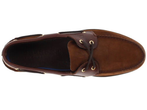 Men/'s SPERRY Top Sider Authentic Original Slip On Leather Boat Shoes EXTRA WIDE