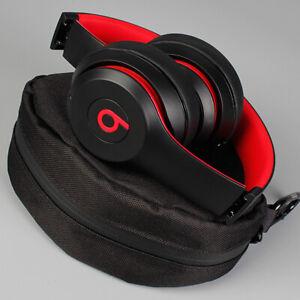 Beats Solo3 Wireless On Ear Headphones Decade Defiant Black Red Refurbished Ebay