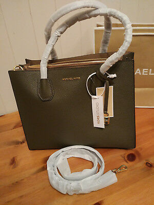 Michael Kors Mercer Large Leather Tote price tag,care card, QR code dust bag | eBay