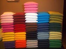 Set of 8 ACA Regulation Corn Hole Bags 25 Colors INDUSTRIAL EQUIPMENT USED!