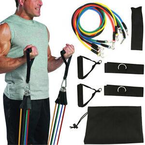 Resistance-Bands-Workout-Exercise-Yoga-11Pcs-Set-Crossfit-Fitness-Training-Tubes