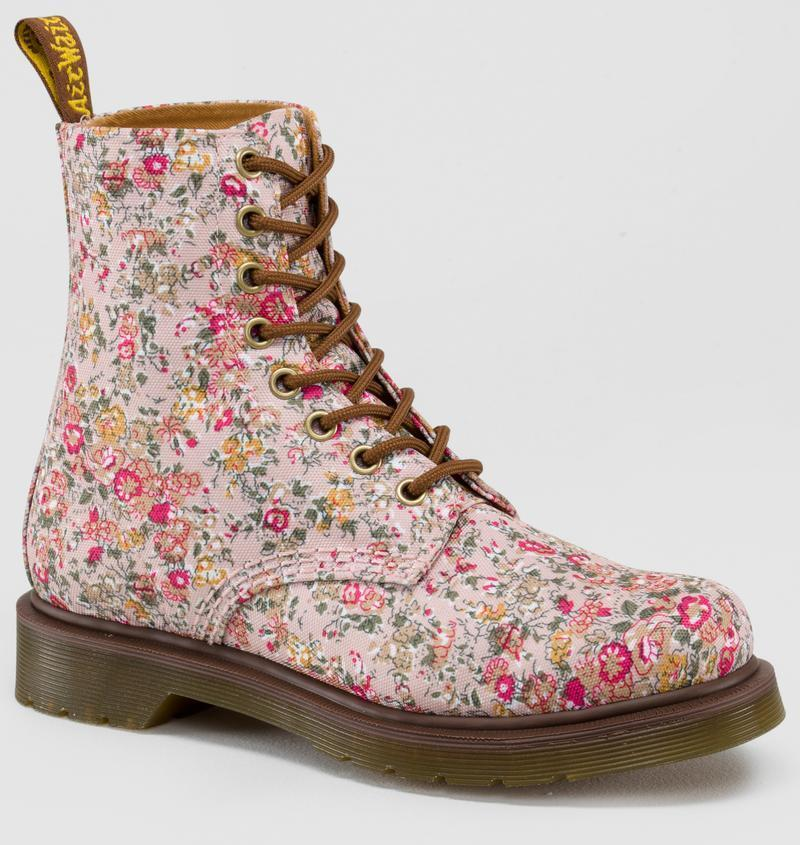 Dr Martens 8 Hole Doc 1460 Page Pink 14296650 The Original