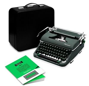 Olympia Typewriter SM4 Green 1960 (Professionally Restored) Like SM3 De Luxe