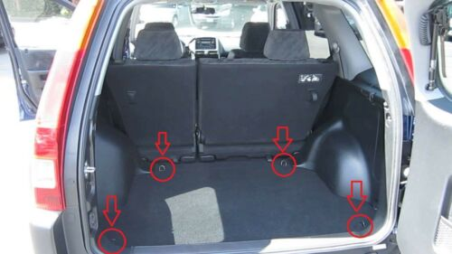 Rear Trunk Floor Style Organizer Cargo Net for Honda CR-V CRV CRV 2002-2006 NEW
