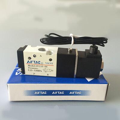 DC MettleAir 3V410-15-DC12 Solenoid Air Valve Pack of 10 Pack of 10 3V410-15-DC12-10PK 1//2 NPT 3 Way 2 Position 12V 1//2 NPT