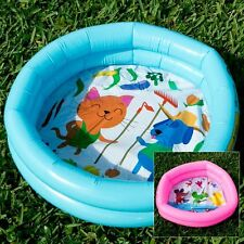 BESTWAY ROUND 2-RING KIDDIE POOL (2 PACK) PINK AND BLUE Free Shipping