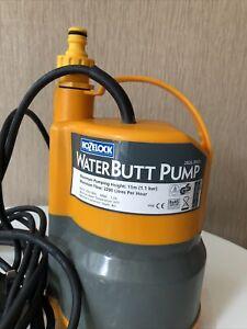 hozelock water butt pump 2826