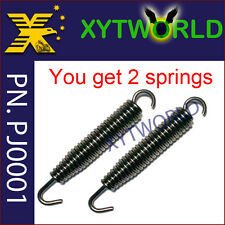 2Pcs Exhaust Spring Pipe Muffler 75mm For Yamaha YZ125 1989-2013 2014 2015 2016