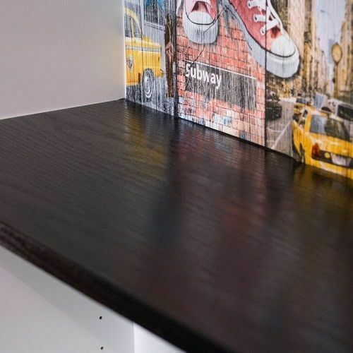 1 M X67cm relooking Blackwood Imitation Self Adhésif Vinyle stickyback Wrap Fablon