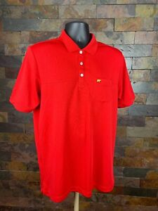 685b19581 Jack Nicklaus StayDri Golf Polo Shirt Red Bear Logo Mens Size M ...