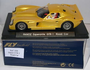 FLY A66 PANOZ ESPERANTE GTR 1 ROAD CAR YELLOW  MB