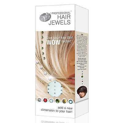 Charming Iron In Straighten In Hair Diamond Crystal Bling Gem Wedding 48 Pcs