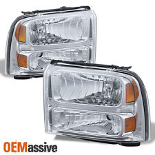 For 05-07 Ford F250/350/450/550 Superduty Headlights 6C3Z-13008-Cb 6C3Z-13008-Da