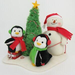 Hallmark Jingle Pals 2006 Very Merry Trio Singing Snowman Penguin Christmas