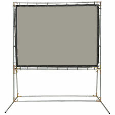 Carl's Rear Projection Film, 4:3, 6.75x9, FreeStanding Projector Screen Kit,Gray