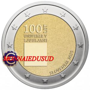 2-Euro-Commemorative-Slovenie-2019-Universite-de-Ljubljana-UNC-NEUVE