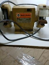 Superb Black And Decker 5 Bench Grinder No 7900 Pre Owned For Machost Co Dining Chair Design Ideas Machostcouk
