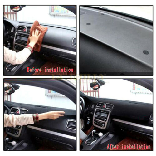 Dashmat Pad Dashboard Cover Carpet LHD For 11-17 VW Jetta Vento MK6