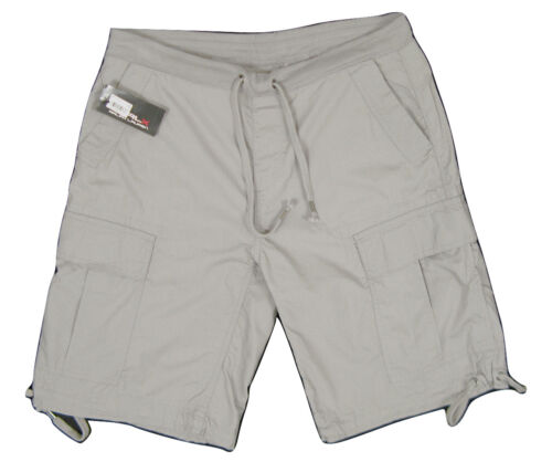 NEW $90 Ralph Lauren RLX Classic Cargo Shorts Metal RLX Emblem   Tan or Gray