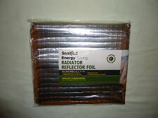 Sealfast Energy Saving Radiator Reflector Foil 5m x 50cm, does 3 radiators!