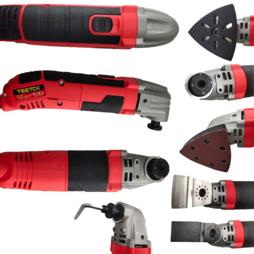 Oscillating Multi Purpose Tool Electric High Power 300W Cutting Scraping Sanding