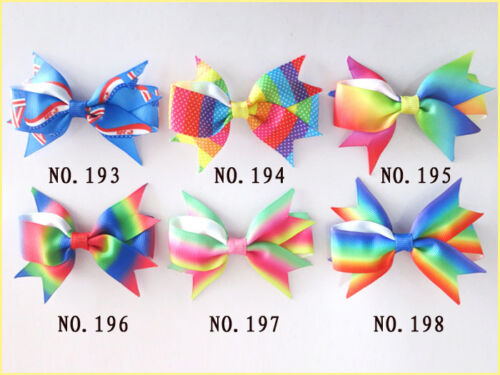 """1000 BLESSING Good Girl Boutique 3.5/"""" A Mermaid Hairbow Clip 248 Wholesale Baby"""