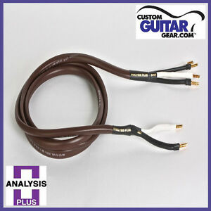 Analysis-Plus-Chocolate-Theater-4-Wire-Cable-Bi-WIRE-Configuration-Length-10ft