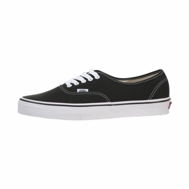 VANS Authentic Black Canvas 0ee3blk Skate Shoes Men US Sizes 7 for ... 39c0f4b1c
