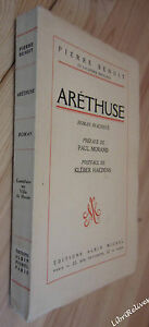 Pierre-BENOIT-Arethuse-roman-inacheve-EO-NUM-sur-velin-du-Marais-1963