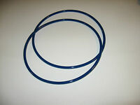 2 Blue Max Round Drive Belts For Menards Dl300-120 Wood Lathe - Made In Usa