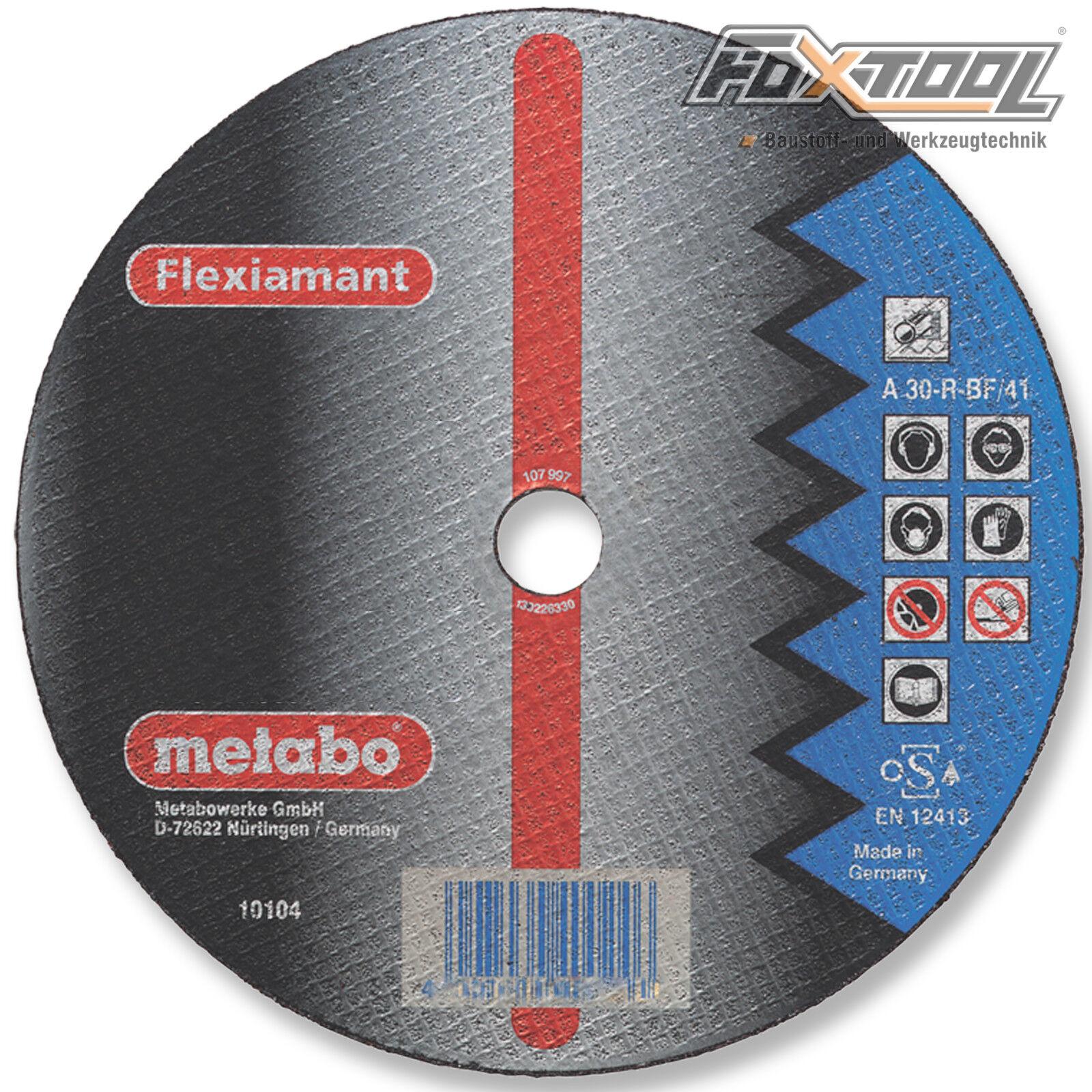 Metabo Flexiamant 230x3x22,2 Stahl  Trennscheibe Metall Flexscheibe