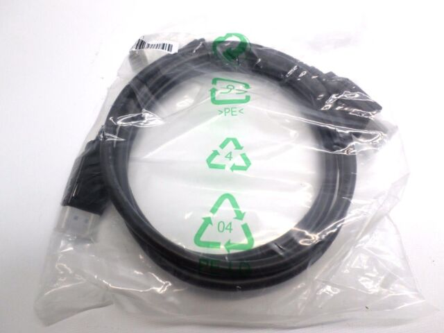 NEW DAEC 6.6ft DisplayPort Cable Male to Male BLACK