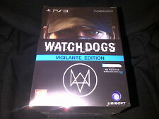NEW Watch Dogs Vigilante (Collectors) Edition PlayStation 3 PS3 (w/ Cap, Mask)2