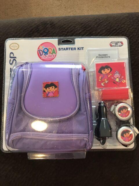 NIP Nintendo Starter Kit Gameboy Advance SP Dora the Explorer Switch N Carry