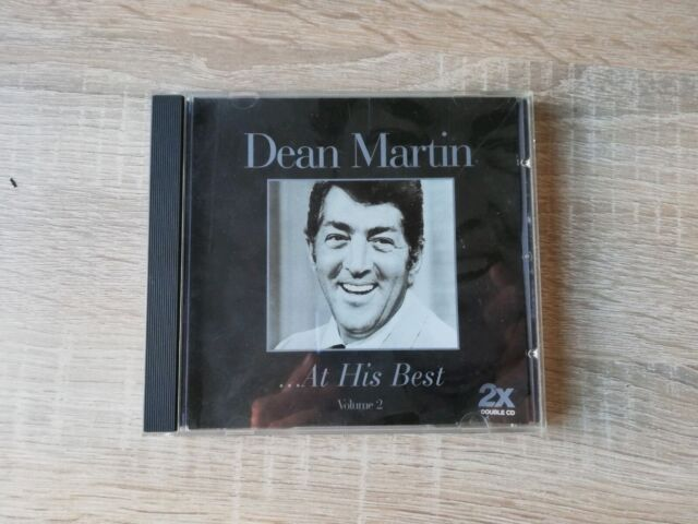 Dean Martin...At His Best CD Compilation 2 CD's