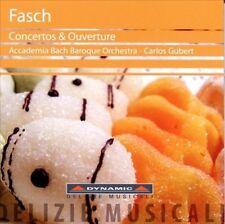 FASCH: CONCERTOS &.. NEW CD