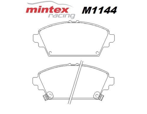 Mintex M1144 pour HONDA ACCORD 2.3 MK 6 00 /> 03 AVANT course Plaquettes De Frein MDB1989