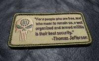 Well Armed Militia 3% Percenter 2nd Homeland Morale Militia Hook Patch