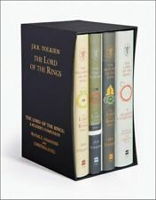 NEW The Lord of the Rings Boxed Set - 4 x Hardcover Books  By J. R. R. Tolkien