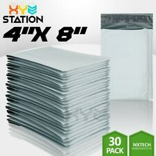 30 Pcs 000 4x8 4x7 Poly Bubble Mailers Padded Envelope Shipping Supply Bags