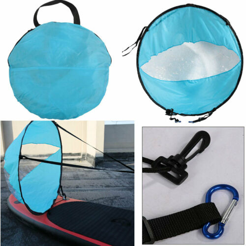 """42/""""in Foldable Downwind Wind Paddle Popup Board For Canoe Kayak Sail Accessories"""