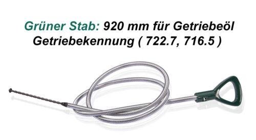 716.5 Getriebepeilstab Mercedes Öl MB Messstab 920 mm Getriebekennung 722.7