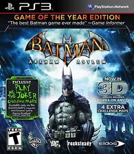 Batman: Arkham Asylum - Game of the Year Edition - Playstation 3 Game