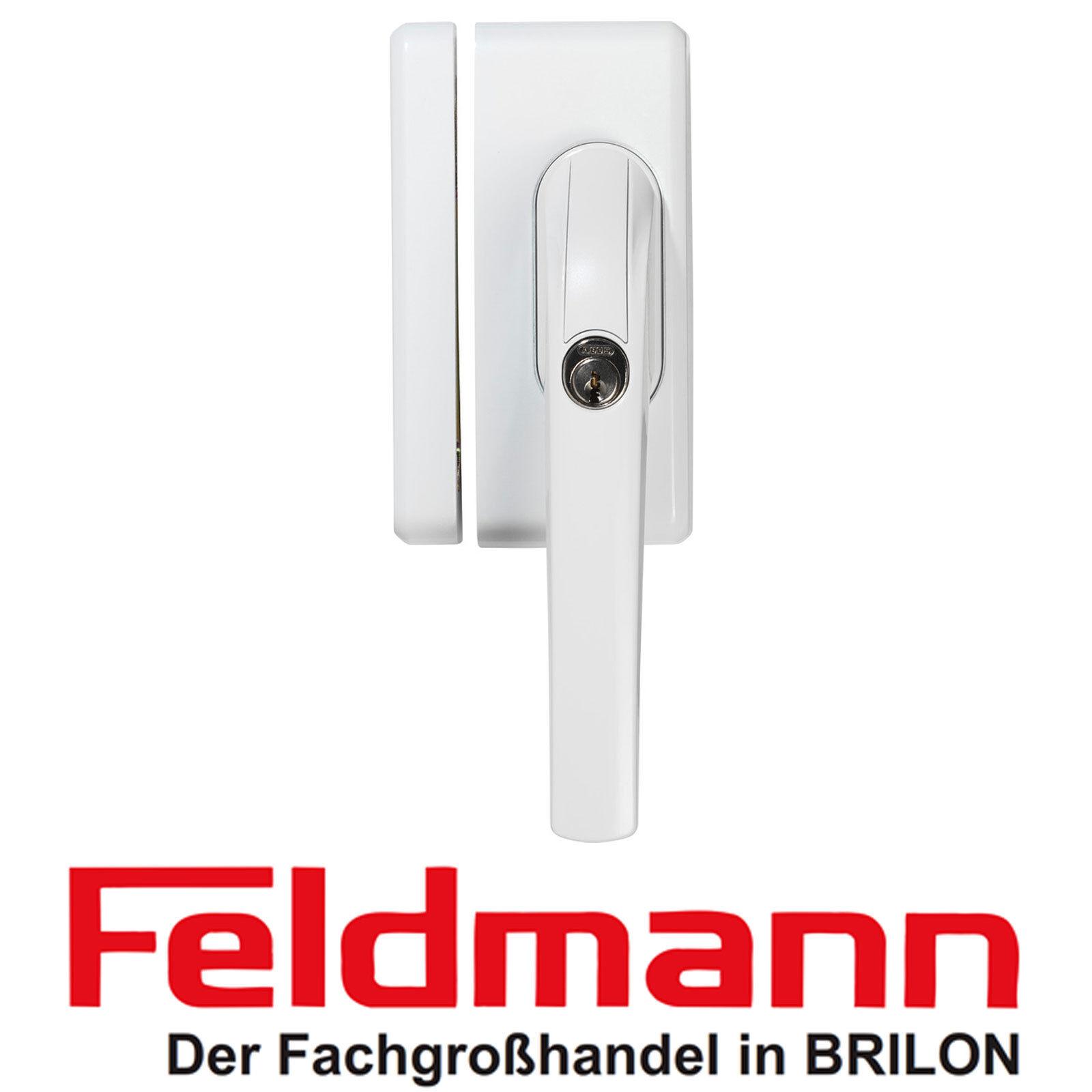 ABUS FO400N Fenstergriff Schloss Fenstergriffsicherung AL0145 Weiß Neu Ovp.