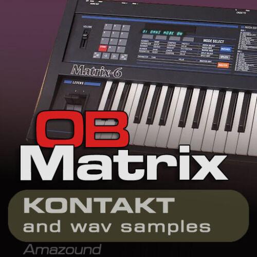 Oberheim matrix 6 samples Für kontakt 237 Nki 1792 wav 24bIt Mac PC Oberteil
